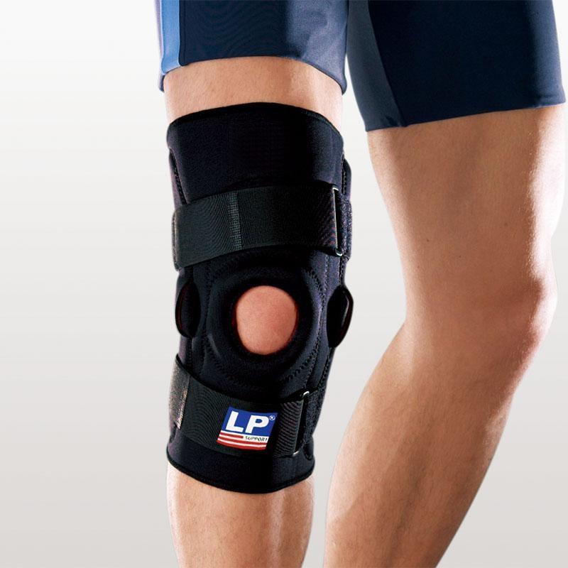 Kniebrace meniscus, instabiliteit, overstrekking