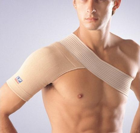 Schoudersteun bevordert de genezing na ontwrichting of subluxatie